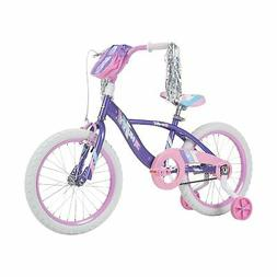 Huffy Kid Bike Quick Connect Assembly Glimmer 16 inch, Purpl