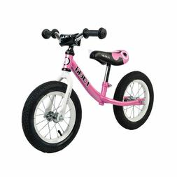Tauki Kid Girls Balance Bike No Pedal Push Bicycle 12-In, Pi