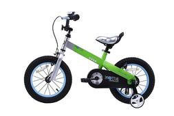Kid's Bike Royalbaby Blue Buttons, 12 inch wheels