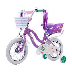 COEWSKE Kid's Bike Steel Frame Children Bicycle Little Princ