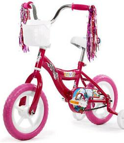 "Kids 12"" Bicycle Bike with Training Wheel For Girls Unicor"