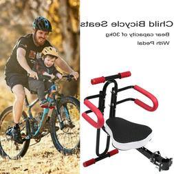 Kids Baby Front Bike Seat Children Bicycle Safety Chair Carr