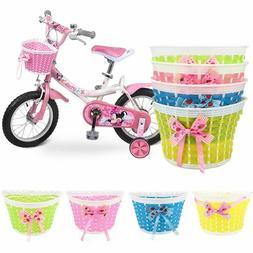 Kids Bicycle Accessories Basket Hanging Bike Bag Boys Girls