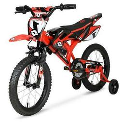 "Kids Bicycle Child Bikes Boys Girls Gift Blue Red 12/"" inch Yamaha Moto Bike BMX"