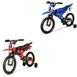 "Kids Bicycle Child Bikes Boys Girls Gift Blue Red 12"" inch Y"