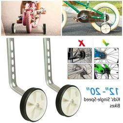 """Kids Bicycle Training Wheels Fits 12"""" 14"""" 16"""" 18"""" 20"""" Univer"""