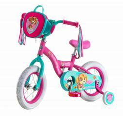 Kids Bike, 12-inch Weel, Training Wheels, Girls