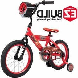 Kids Huffy Bike 16 inch Disney Pixar Cars Lightning McQueen