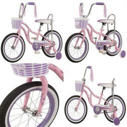 "Schwinn Kids Bike 16"" Wheel Training Wheels Girls Pink Banan"
