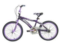 KIDS BIKE 20-Inch Wheels Black Purple Steel Frame Girls Bicy