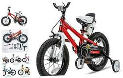Kids Bike Boys Girls Freestyle Bicycle 12 14 16 inch with Tr