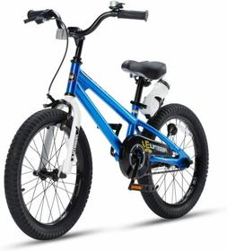 "Kids Bike Boys Girls Freestyle Bicycle 18"" with Training Whe"