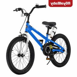 RoyalBaby Kids Bike Boys Girls Freestyle Bicycle 18 inch wit