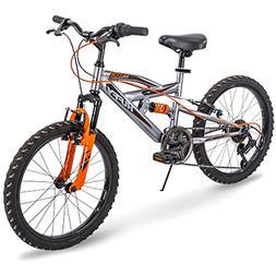Huffy Kids Bike Boys, Valcon 20 inch, 6-Speed, Charcoal Gray