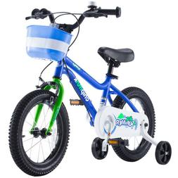 Kids Bike for Girls and Boys with Training Wheels for 16""