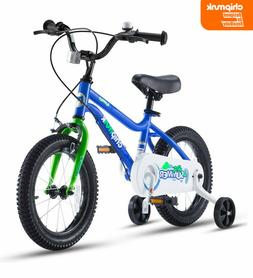 "Kids Bike for Girls and Boys with Training Wheels for 12""1"