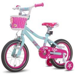 JOYSTAR Kids Bike Girls Bicycle 12 14 16 18 Inch with DIY De