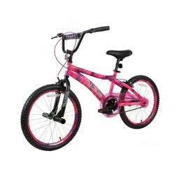 """KIDS BIKE Girls Bicycle 20"""" Wheels Pink Purple Steel Frame"""