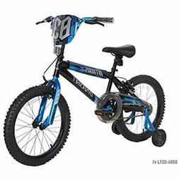 "Dynacraft Kids Bikes Boys Nitrous Bike, Black/Blue, 18"", Spo"