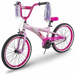 "Huffy Kids Bikes For Girls, Go 20 Inch Pink "" Purple Sports"