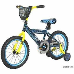 Dynacraft Kids Bikes Jurassic World Bike, 16'', Blue Sports