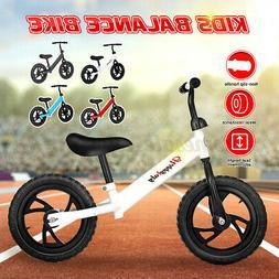 Kids Children Balance Bike Learning Walk Bicycle Walking Tra