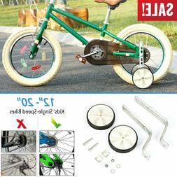 Kids Children Bike Training Wheels Bicycle Stabilisers for 1