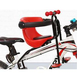 Kids Front Bike Seat Child Bicycle Safety Chair Baby Carrier
