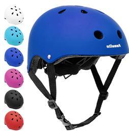 Kids Helmet Bike Adjustable Toddler Skateboard Helmet for Bo