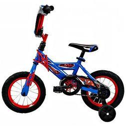 Kids Spider-Man 12 Boys EZ Build Bike