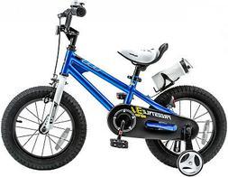 RoyalBaby Kids' Steel/Plastic 16-inch BMX Freestyle Bike Wit