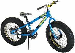 "Mongoose Kong 20"" inch Boy's Fat Tire 7-Speed Mountain Bike"