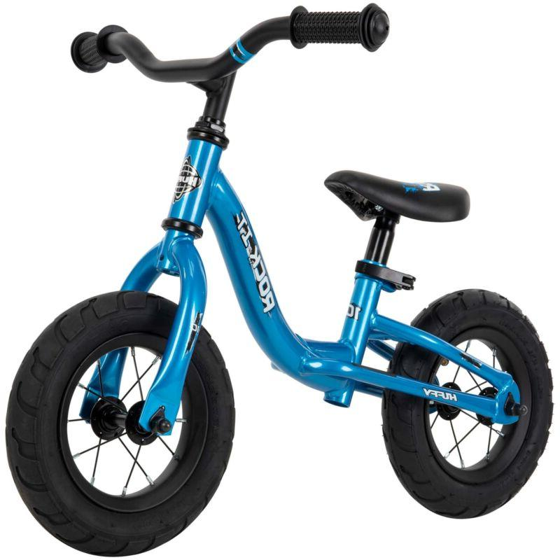 10 inch rock it balance bike blue