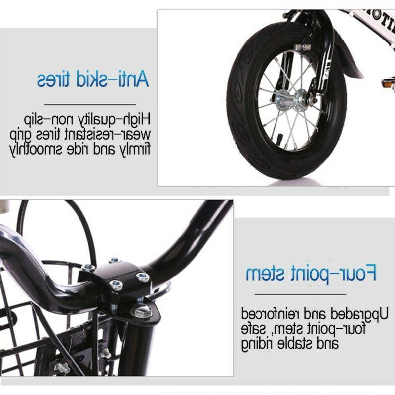 """12""""-14""""-16"""" LED Training Wheels Brake"""