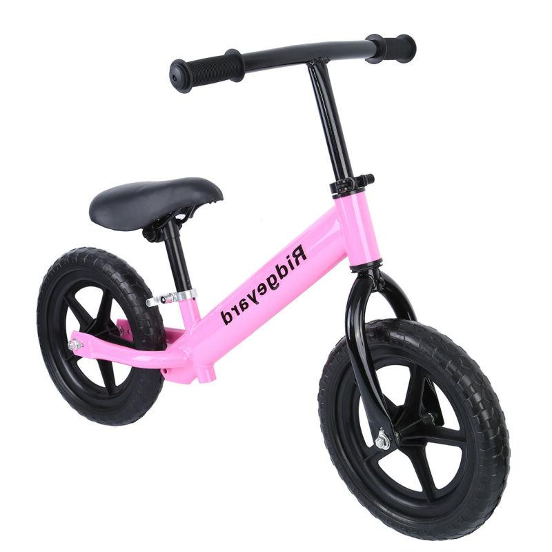 "Ridgeyard® 12"" Balance Classic Kids Child No-Pedal Learn To Ride Bike"