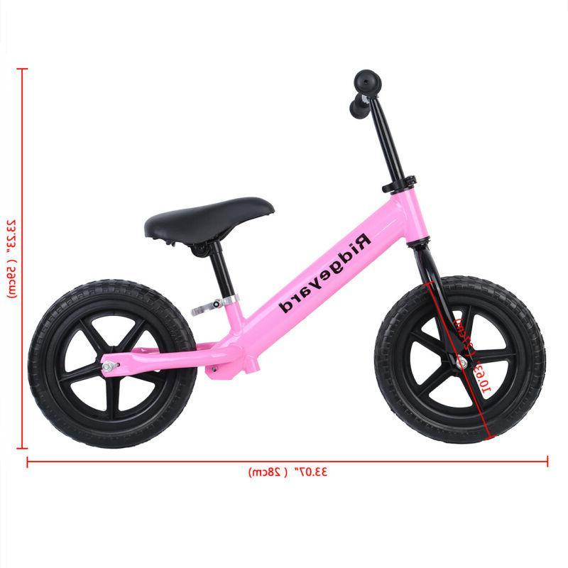 "Ridgeyard® 12"" Classic Kids Learn To Bike"