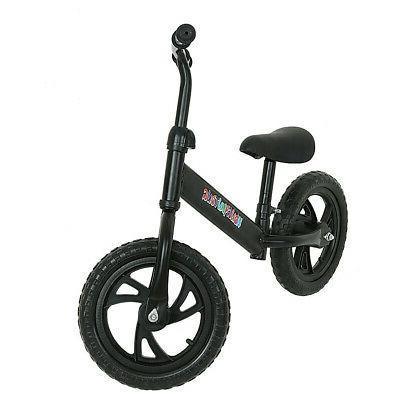 "12"" Balance Bike Kids Learn To Ride Bike w/ Adjustable Seat"