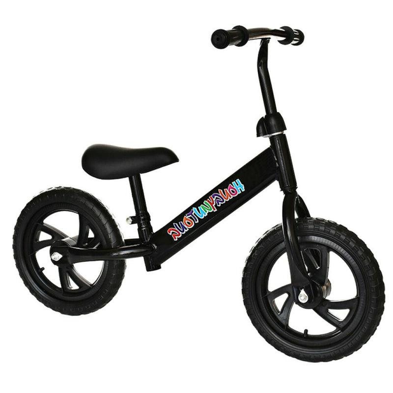 STRIDER Balance Bike No-Pedal Learn To Ride Black