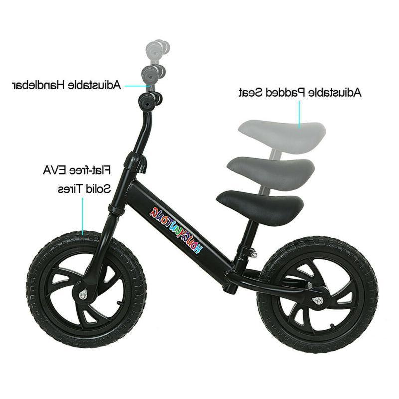 STRIDER Balance Bike To Ride Bike Black