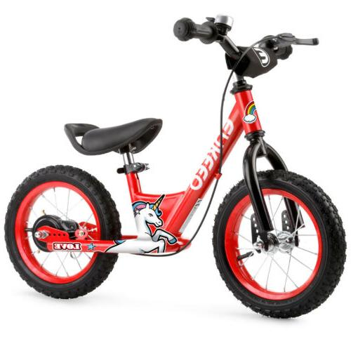 "12"" Balance Bike Kids No-Pedal Seat"
