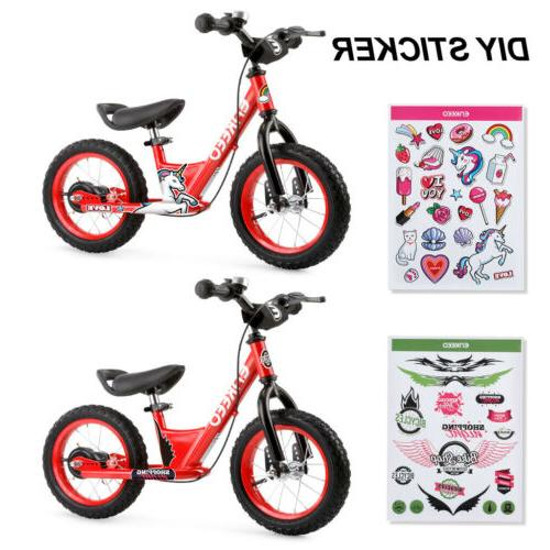 "12"" Bike Kids No-Pedal Adjustable Seat"