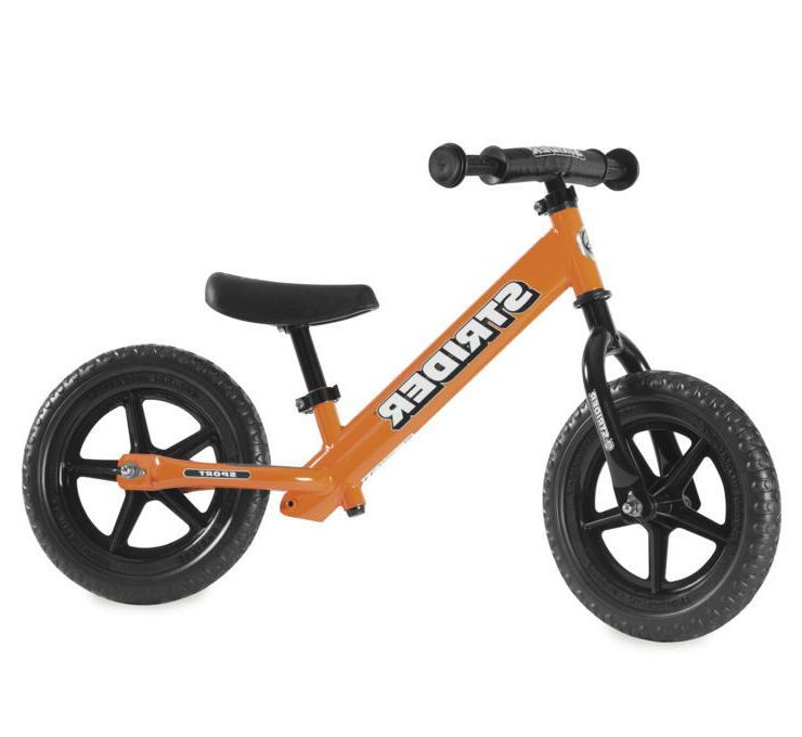 12 custom balance bike orange training bicycle