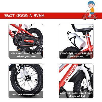 "12"" Freestyle Kids Bike Bicycle Children Girls w Training Wheels"