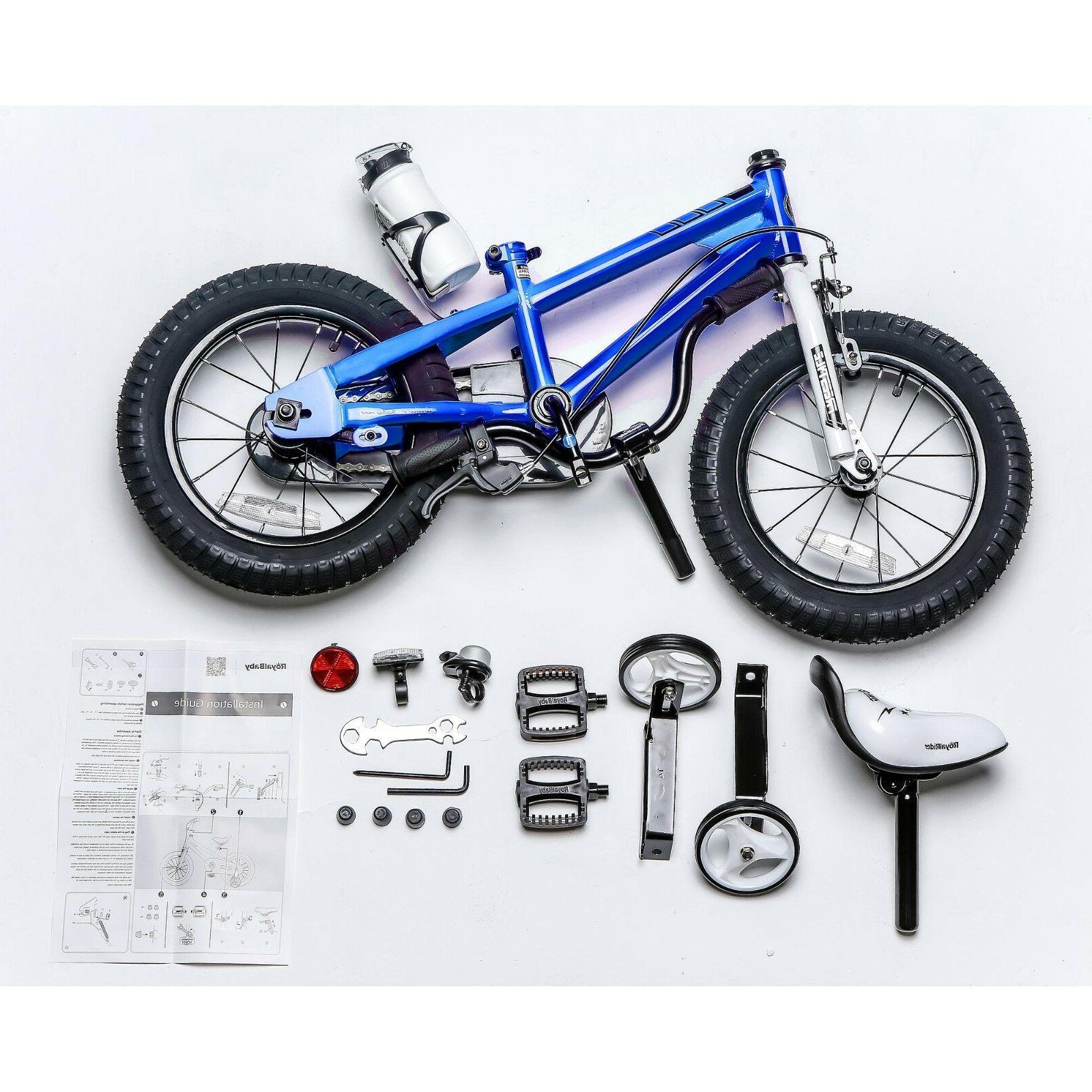 "12"" Freestyle Kids Boy's Girl's Bicycle W Blue"