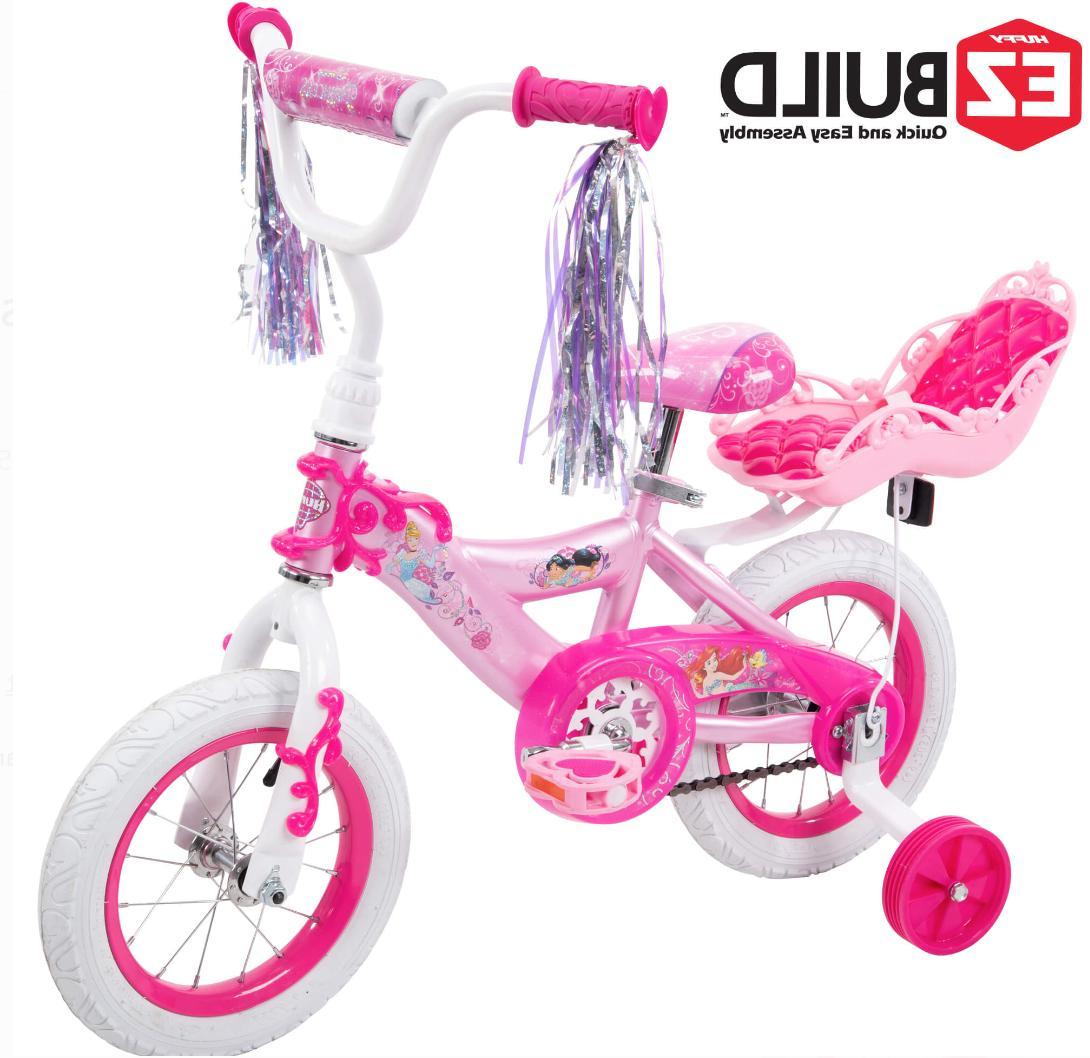 12 inch disney princess pink bikes