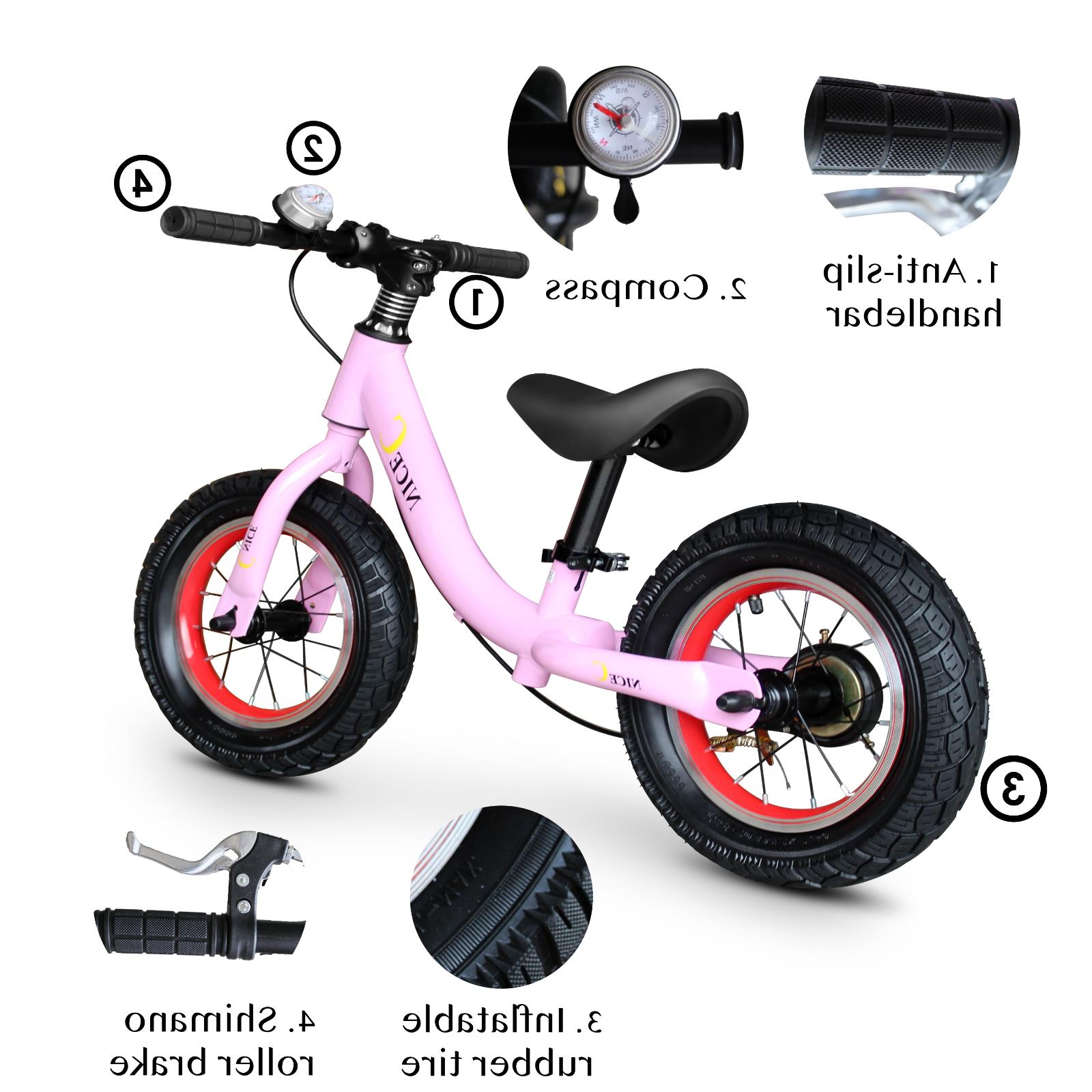 "12"" Kids Children Boys & Girls with Brakes and Exercise"