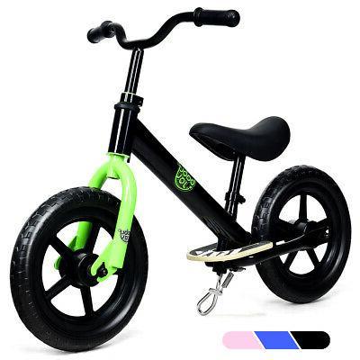 "12"" No Pedal Child Bicycle w/ Black"