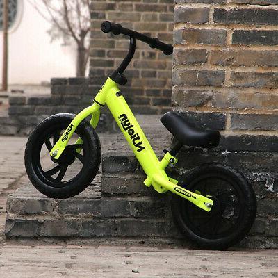 Adjustable 12'' Kids Balance Bike Training Learn Ride Childr