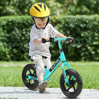 """12"""" Navy Kids Bike Girls with Brakes and Bell Exercise"""