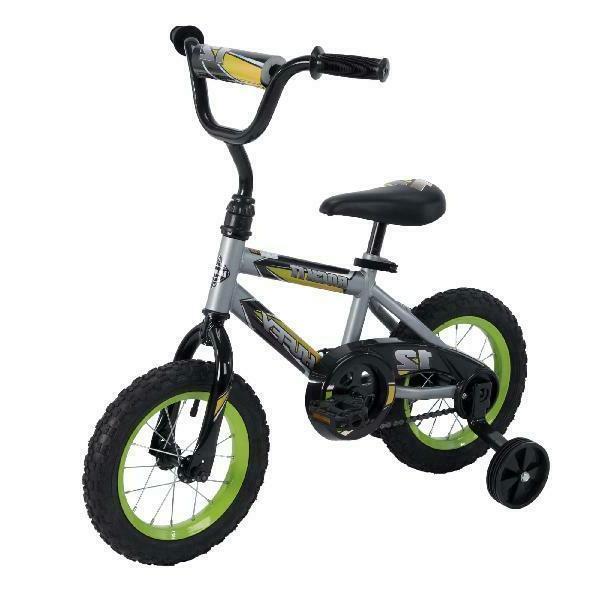 "Toddlers Bike 12"" Training Wheel Kids Bicycle Outdoor Boys &"